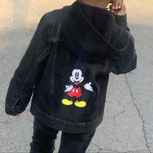 Disney x Levi's Boys Black Denim Jacket